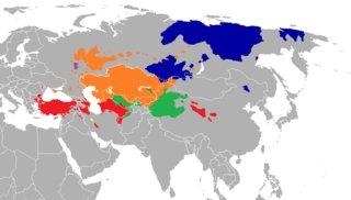 Turkic Map
