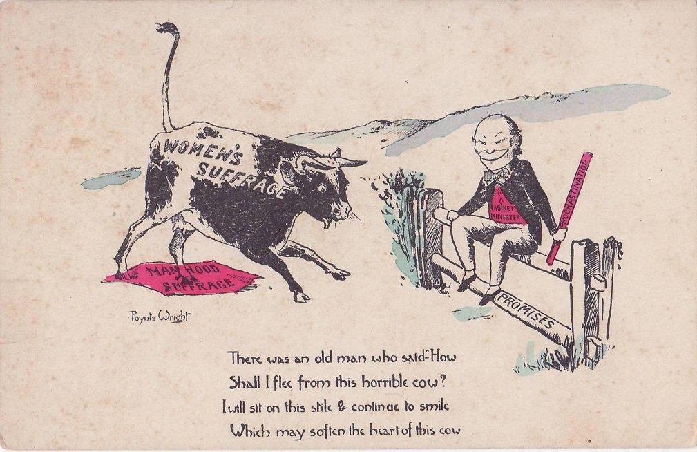Suffrage postcard